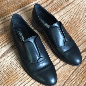 L'intervalle loafers black leather